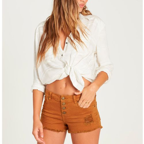 Short Mujer Buttoned Up