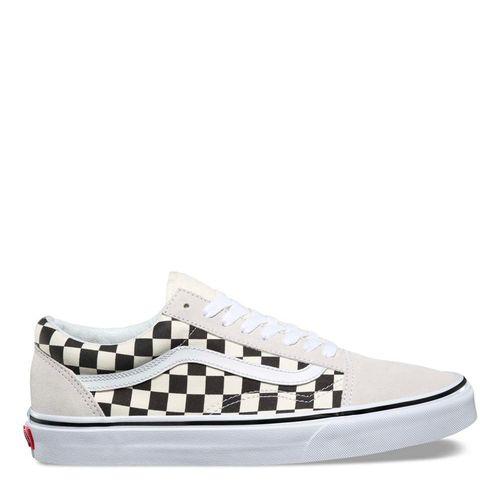 Zapatillas Old Skool Checkerboard White/Black