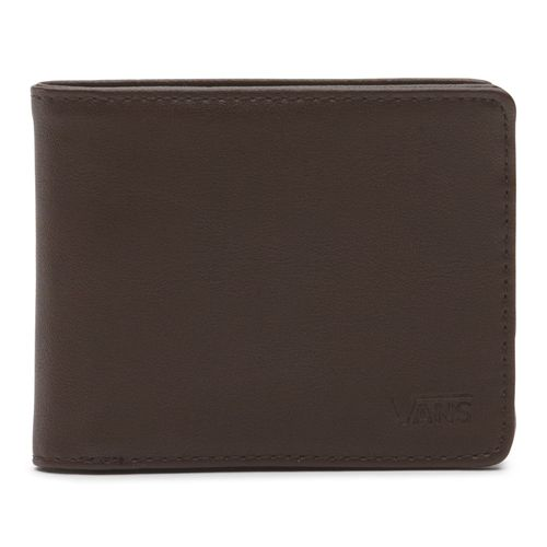 Billetera Drop V Bifold Dark Brown