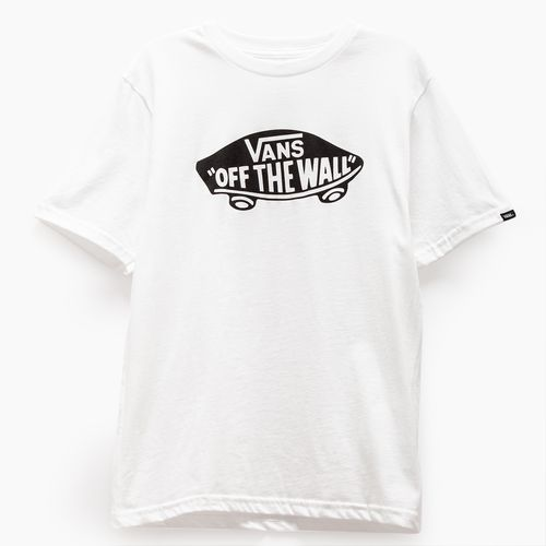 Polera Otw Boys White-Black