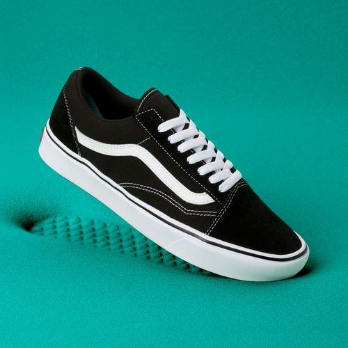 Zapatillas ComfyCush Old Skool (Classic) Black/True White