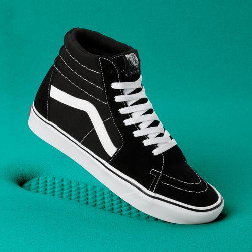 Zapatillas ComfyCush SK8-Hi (Classic) Black/True White