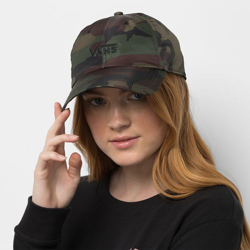 Jockey Court Side Printed Hat Woodland Camo