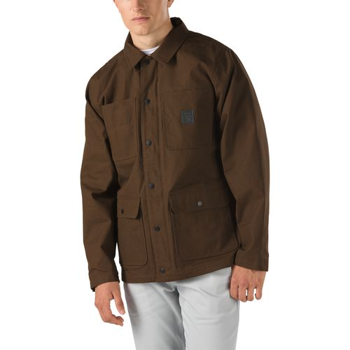 Chaqueta Drill Chore Coat Lined Demitasse (Ave/Ripstop)