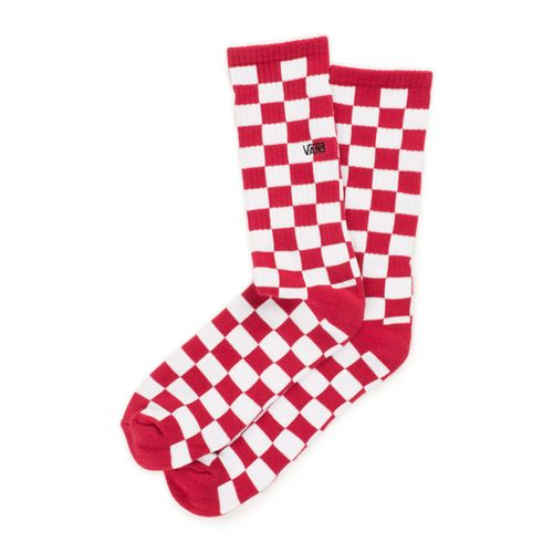 Calcetines Checkerboard Crew II (6.5-9, 1P) Red-White Check