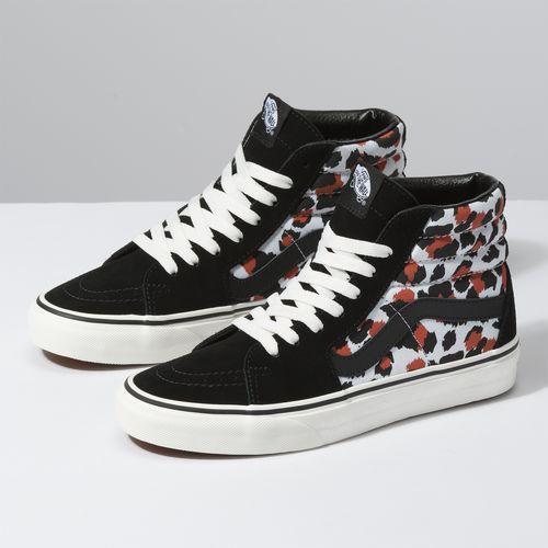 Zapatillas Sk8-Hi (Leopard) Black/True White