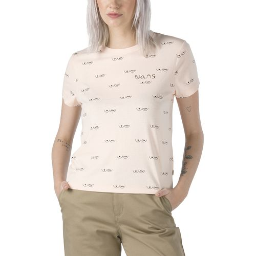 Polera Bca Embroidery Tee (Breast Cancer)/Nude Check