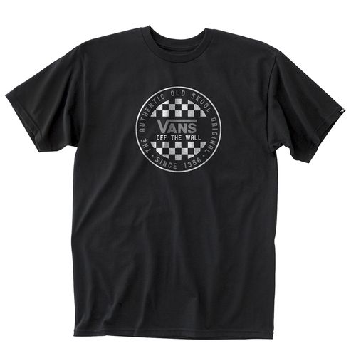 Polera Og Checker Ss Black