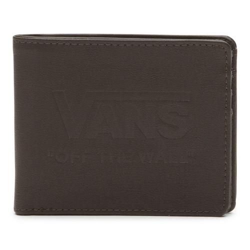 Billetera Vans Logo Wallet Dark Brown