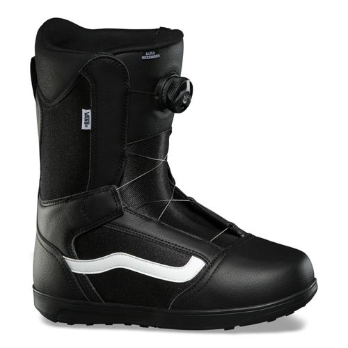 Bota Snow Aura Linerless Black/White