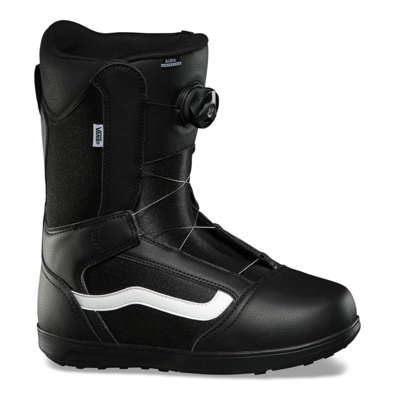 Bota-Snow-Aura-Linerless-Black-White