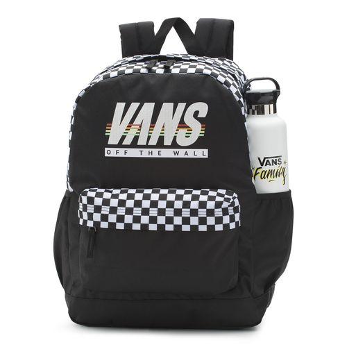 Mochila Sporty Realm Plus Backpack Black-Sport Stripe
