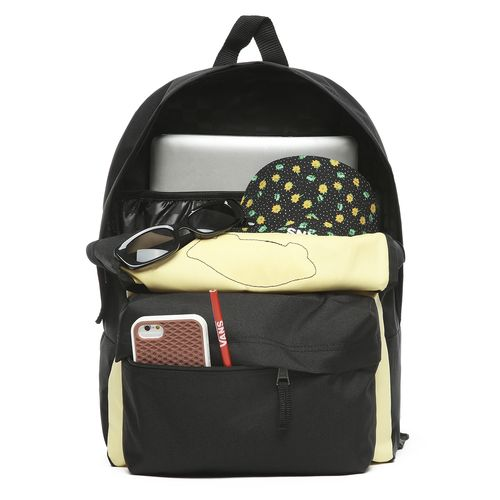 Mochila Realm Backpack Golden Haze-Black