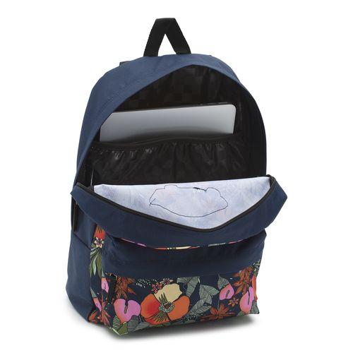 Mochila Realm Backpack Multi Tropic Dress Blues