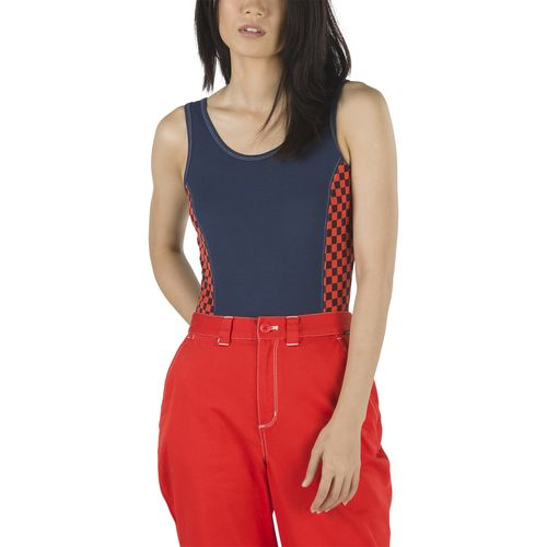 Polera Pro Stitched Body Suit Dress Blues