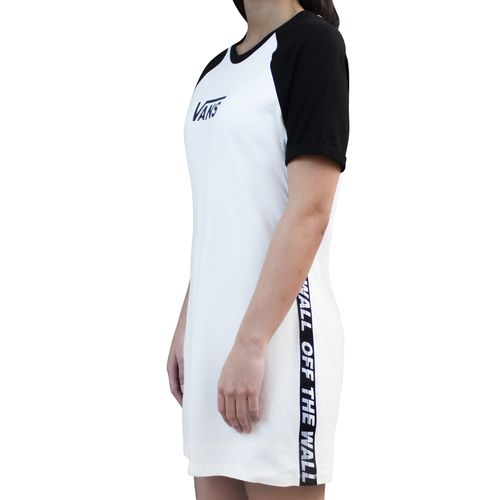 Vestido Bladez Ss Dress White-Black