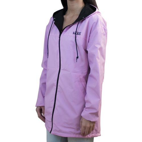 Chaqueta Mercy Reversible Parka Black-Fuchsia Pink