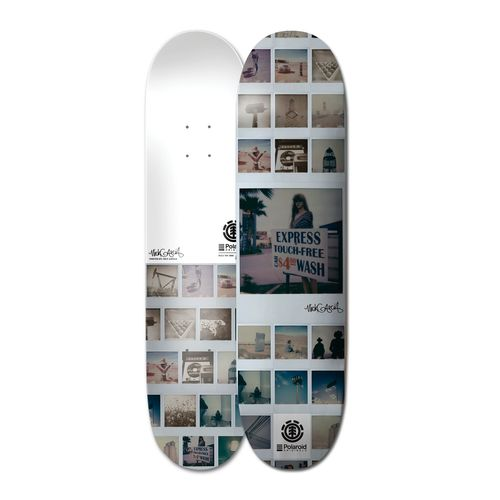 Tabla Skatebodard Polaroid Garcia 8 2