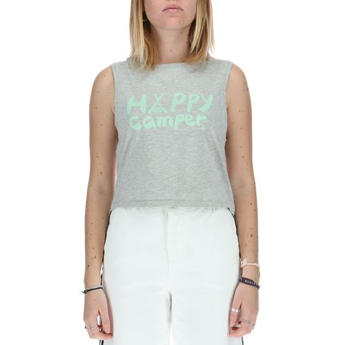 Polera Mujer Happy Camp Crop Tank