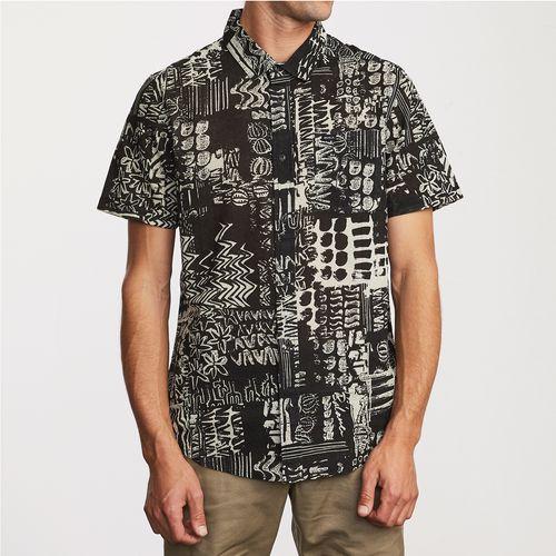 Camisa Manga Corta Hombre Modern Jungle
