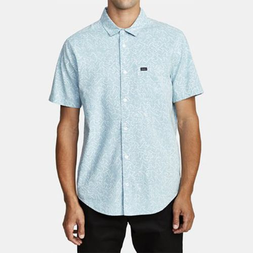 Camisa Manga Corta Hombre Oblow Waves