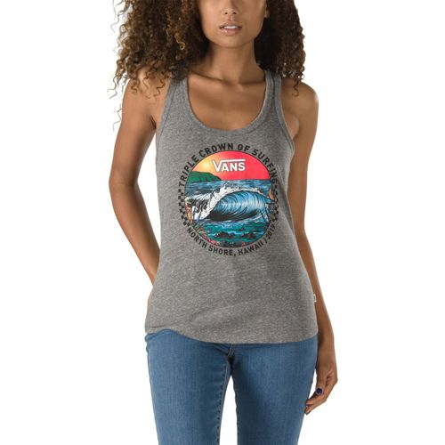 Polera 2019 Vtcs Wave Break Tour Tank Grey Heather