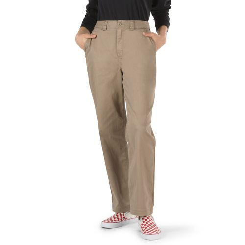 Pantalón Authentic Chino Wmn Military Khaki