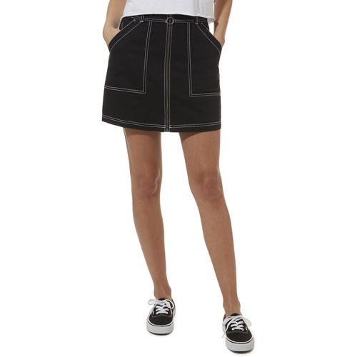 Falda In The Know Skirt Black