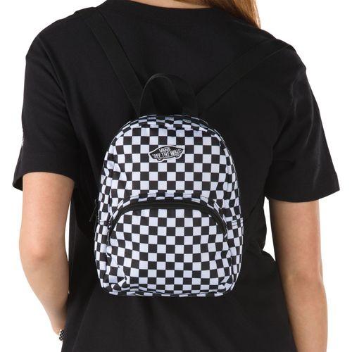 Mochila Got This Mini Backpack Black-White Checkerboard