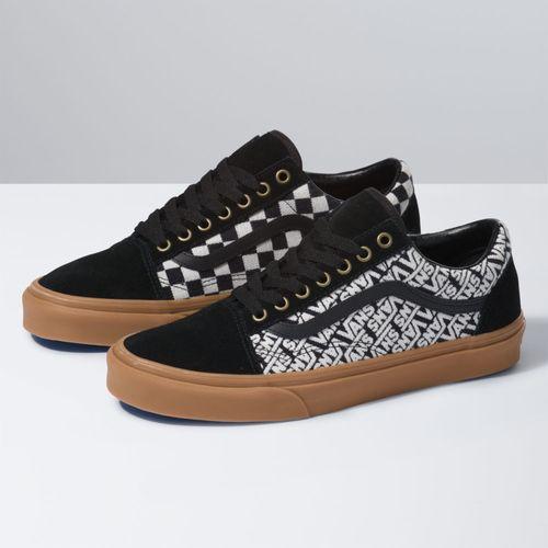 Zapatillas Old Skool (Vans Jacquard) Black/Turtledove