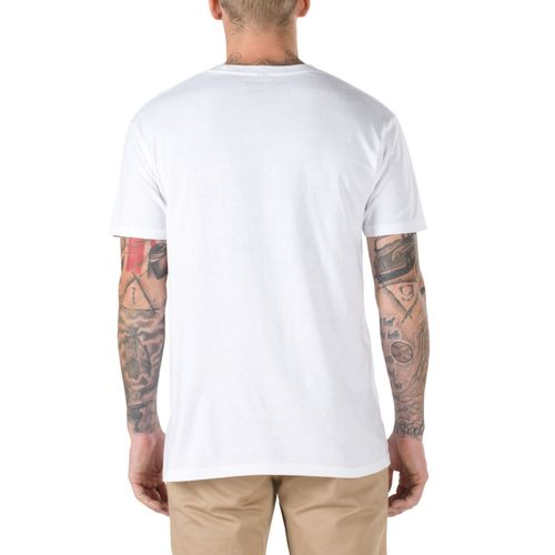 Polera Full Patch White-Black