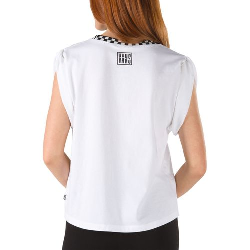 Polera Blender Bender Muscle White