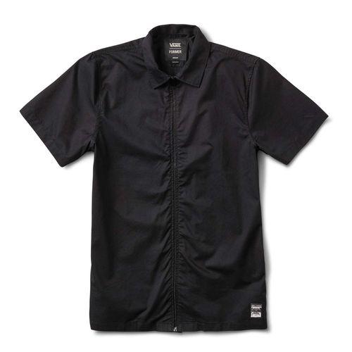 Camisa manga corta Vans X Former Zip Woven Black