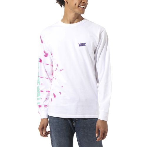 Polera Eyes Open Tie Dye Ls White