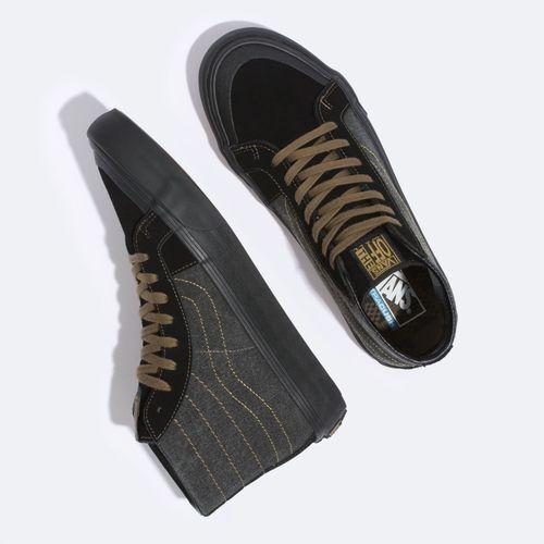 Zapatillas Sk8-Hi 138 Decon Sf (Michael February) Black/Military