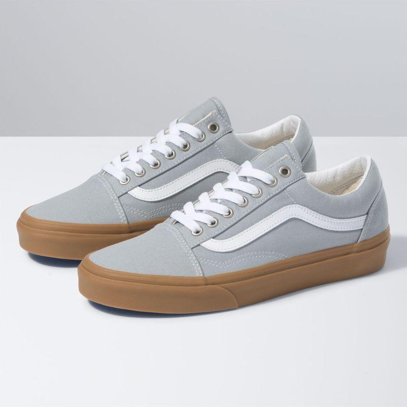 Zapatillas Ua Old Skool (Gum) High Rise/True White - Vans ...