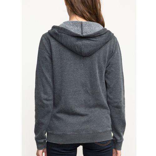 Polerón Mujer Label Burnout Fleece