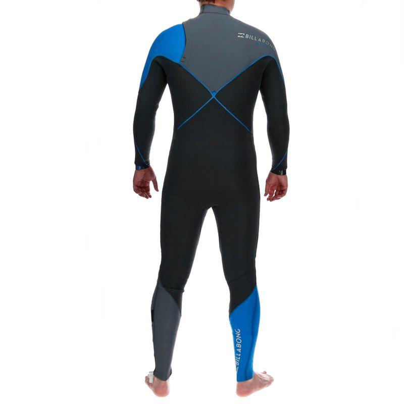 Traje-De-Agua-Hombre-4-3-Furnace-Comp-Chest-Zip-Full-Wetsuit